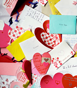 Valentines to US Troops